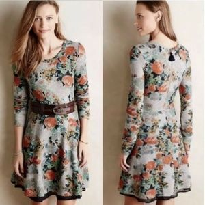 Anthropologie Saturday Sunday Floral Terry Dress